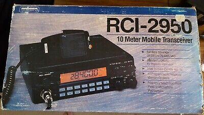 RCI-2950 10 Meter Radio Amber Display With Original Packaging