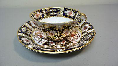Imari Coffee Saucer - VINTAGE ROYAL CROWN DERBY PORCELAIN IMARI COFFEE CUP & SAUCER #2451, c. 1967