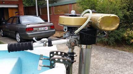 British Seagull Silver Century Outboard motor Frenchs Forest Warringah Area Preview