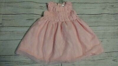 Carters 6-9 Month Pink Tulle Tutu Dress Easter Spring Party