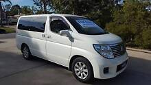 2004 Nissan Elgrand Wagon 39kms!! Series 2 facelift model Salisbury South Salisbury Area Preview