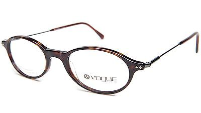 NEW Vogue VO2158 W656 HAVANA WOMEN EYEGLASSES FRAME VO 2158 49-19-140 B33 Italy