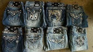 See why fashionistas trust Tradesy for guaranteed authentic Miss Me Jeans and more at up to 80% off. Safe shipping and easy returns. Tradesy. Region: US. Log In. or. Miss Me Light Distressed Denim