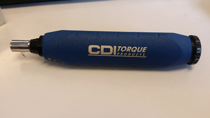 CDI torque screwdriver 1-40 IN L.B