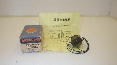 Thordarson 23v153 Control Transformer 115v In 24v Out Nib