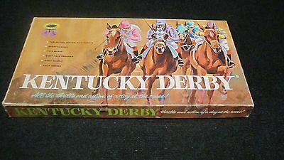 Kentucky Derby Whitman Board Game 1963 Complete