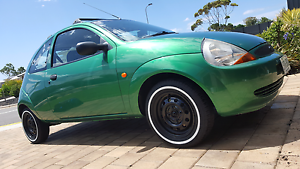 FORD KA 2001 MANUAL $1900 ono Onkaparinga Hills Morphett Vale Area Preview