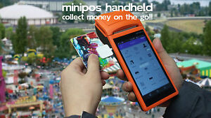 Mini POS System Handheld WIFI SIM Collect Money On The Go V