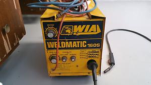 WIA Weldmatic 160S Mig welder 10A Paralowie Salisbury Area Preview