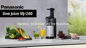 Brand New Panasonic MJ-L500 (Silver) Slow Juicer (RRP $399) Hornsby Hornsby Area Preview