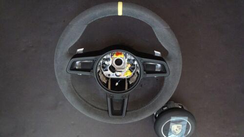Porsche 2012 - 18  991.1 - 2 Gt 3 Rs Pdk Gt Alcantara  Steering Wheel Y Top & Ab