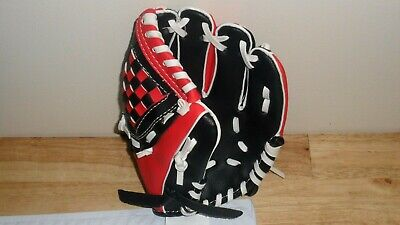 Dick's Sporting Goods Black & Red T-Ball Youth Glove ()