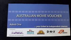Australian Movie Vouchers 1x6 Parramatta Parramatta Area Preview