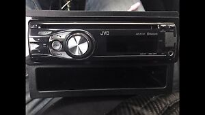 ^** JVC STEREO DECK BLUETOOTH  HANDS FREE CALLING AUX USB
