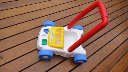 Fisher price push along lawn mower Semaphore Port Adelaide Area Preview