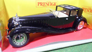 bugatti royale 1 21 no 1 18 de solido prestige 8001 voiture miniature collection. Black Bedroom Furniture Sets. Home Design Ideas