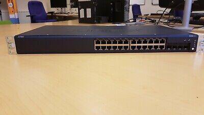 Juniper Networks EX2200-24P-4G POE Ethernet Switch inc rack mount
