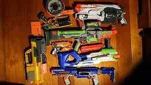 Bulk pack of nerf guns, bullets, and  discs Capalaba Brisbane South East Preview