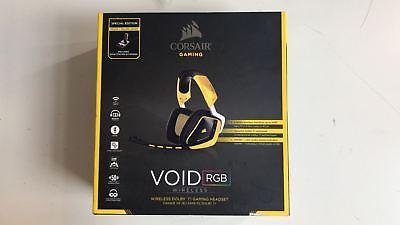 Corsair VOID Wireless Dolby 7.1 RGB Gaming Headset Yellowjacket *No Mic
