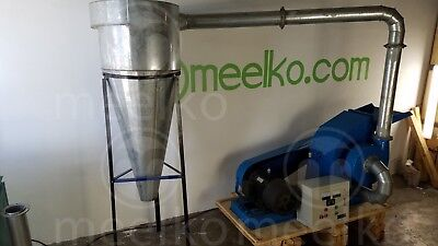 Combo Pellet Mill 22kw Hammer Mill 11kw Electric Engine Free Shipping