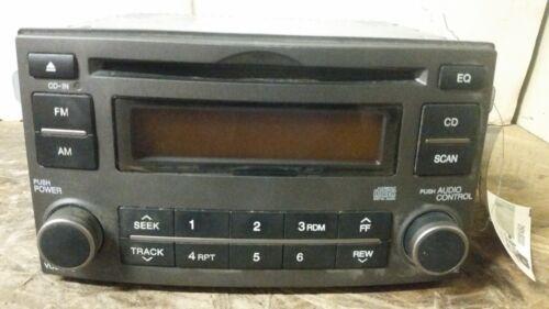 07 08 Kia Rondo Single CD Radio Receiver 96140-1D1003W