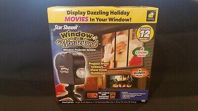 Halloween Movies On Tv (Star Shower As Seen On TV Window Wonderland Projector 12 Movies Xmas &)