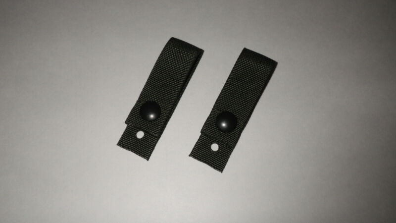 Military HELMET GOGGLE RETENTION STRAPS ACH PASGT SDS AIRSOFT MADE IN USA
