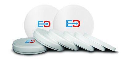 Dental Zirconia Blocksdiscs 98 Mm X 22 Mm Pre-shaded Elegance Premium Tm