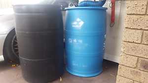 Plastic 44 gallon drums Beeliar Cockburn Area Preview