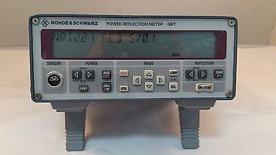 Rohde Schwarz Nrt Power Reflection Meter 90 Day Warranty - Tested
