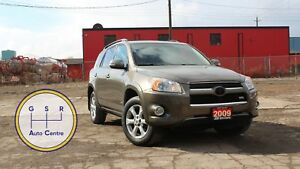 2009 Toyota RAV4 LIMITED V6 AWD | SUNROOF | LEATER | HEATED SEAT
