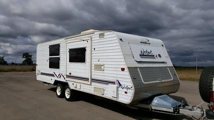 24 foot caravan Jayco Westport