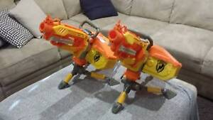 Two Nerf Vulcans