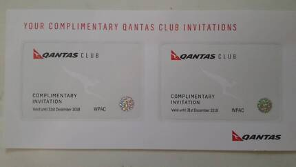 Qantas Club Lounge Passes (x 2) → Relax, Unwind and Enjoy