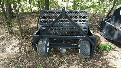 Horses 24 Cubic Foot Rotary Manure Spreader No Chains No Pto...hook Up And Go