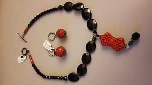 Necklace and earring set -- never worn