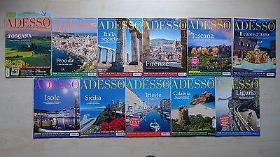 11 x ADESSO. ITALIENISCH-MAGAZIN. aus Jahrgang 2011, 2012, 2013 und 2014.
