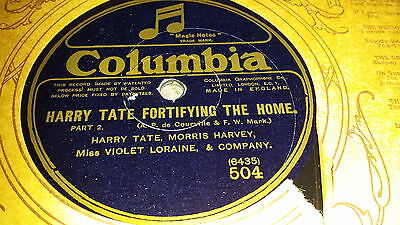 HARRY TATE, MORRIS HARVEY, VIOLET LORAINE HARRY TATE FORTIFYING THE Deeply COL 504