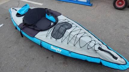 Kayak  one man inflatable Sevlor Eskimo ST5100 3.8m