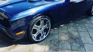 "22"" rims and tires off 2011 challenger"
