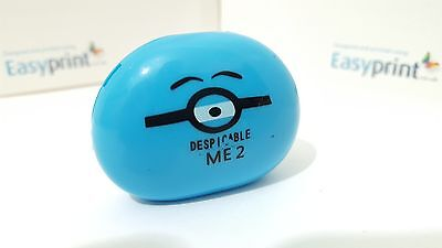 Mini Despicable minions MP3 player with TF card slot bundled accessories in Blue