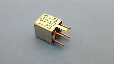 Variable Inductors Caddell Burns 6740-23 4.7-8.2uh Subminiature Shielded 3 Pcs