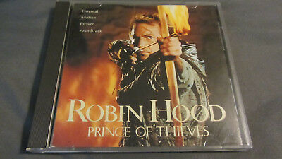 Robin Hood Prince of Thieves CD Original Motion Picture Soundtrack Michael