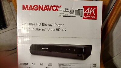 Magnavox - MBP6700P - 4K Ultra HD Blu-Ray Player - Black NEW!