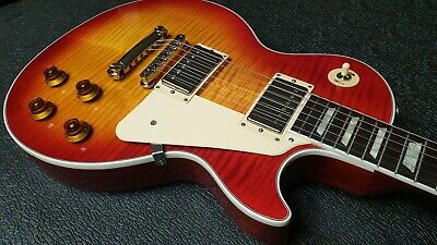 NOS 1959 Remodelled 2014 Gibson Les Paul Heritage Cherry guitar Flame Top LOOK