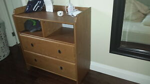 ikea change table and dresser