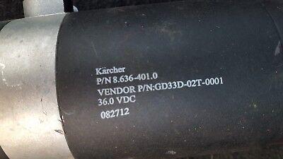Windsor 86364010 Traction Motor Chariot Ivac 36v Atv Vacuum Cv24 Cvc24 Iscrub 20