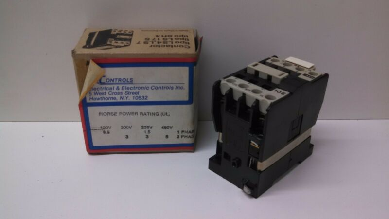 NEW OLD STOCK! AEG 440/480V 16AMP CONTACTOR E-NR910-302-503-22 LS4