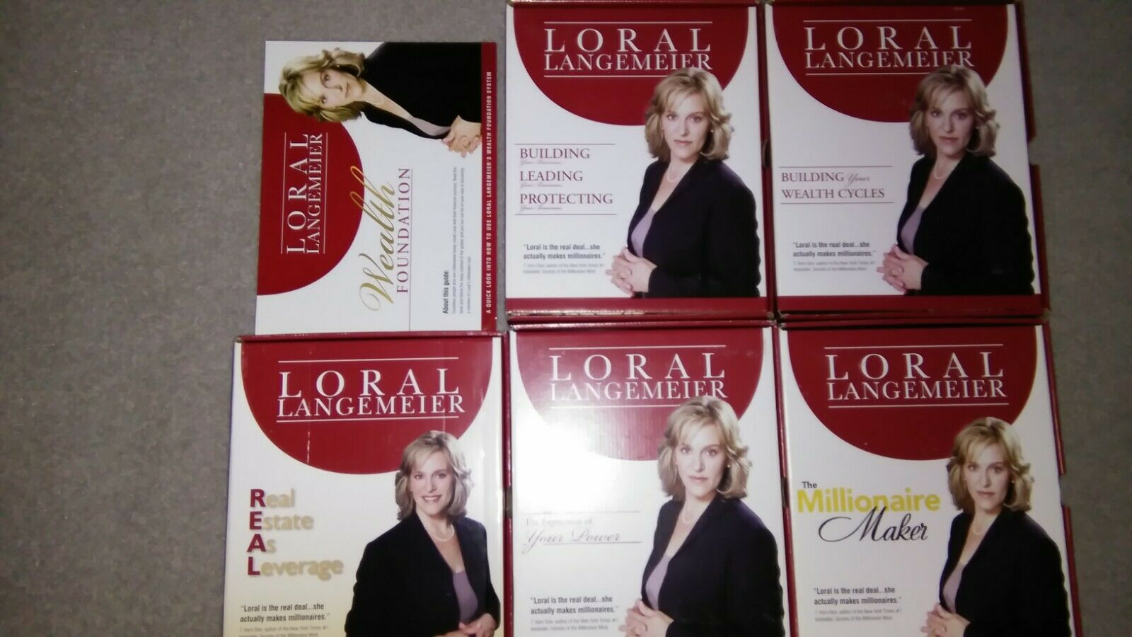 Wealth Foundation System - Box Set By Loral Langemeier - 23 CDs 5 Workbooks - $149.99
