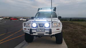 Nissan patrol st.l guiii turbo diesel come with reg and rdw Craigieburn Hume Area Preview